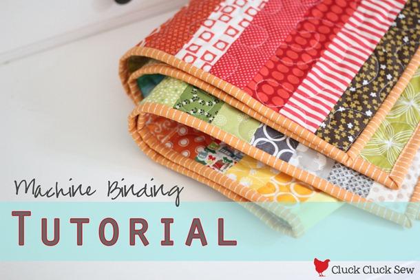 Video tutorial: machine quilt binding youtube.