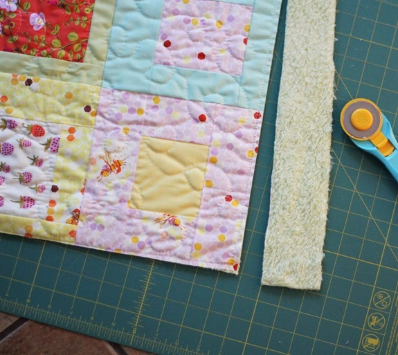 Trimming, Briar Rose Quilt_thumb