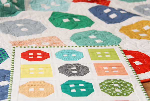 Button Up Mini Quilt