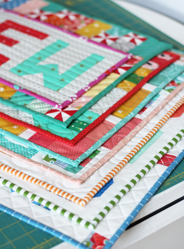 Mini Quilts Cluck Cluck Sew