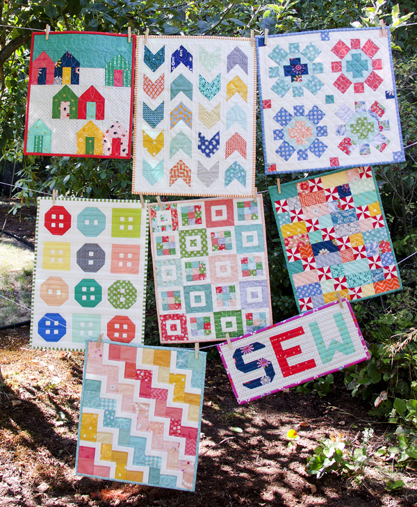 Cluck Cluck Sew Mini Quilts
