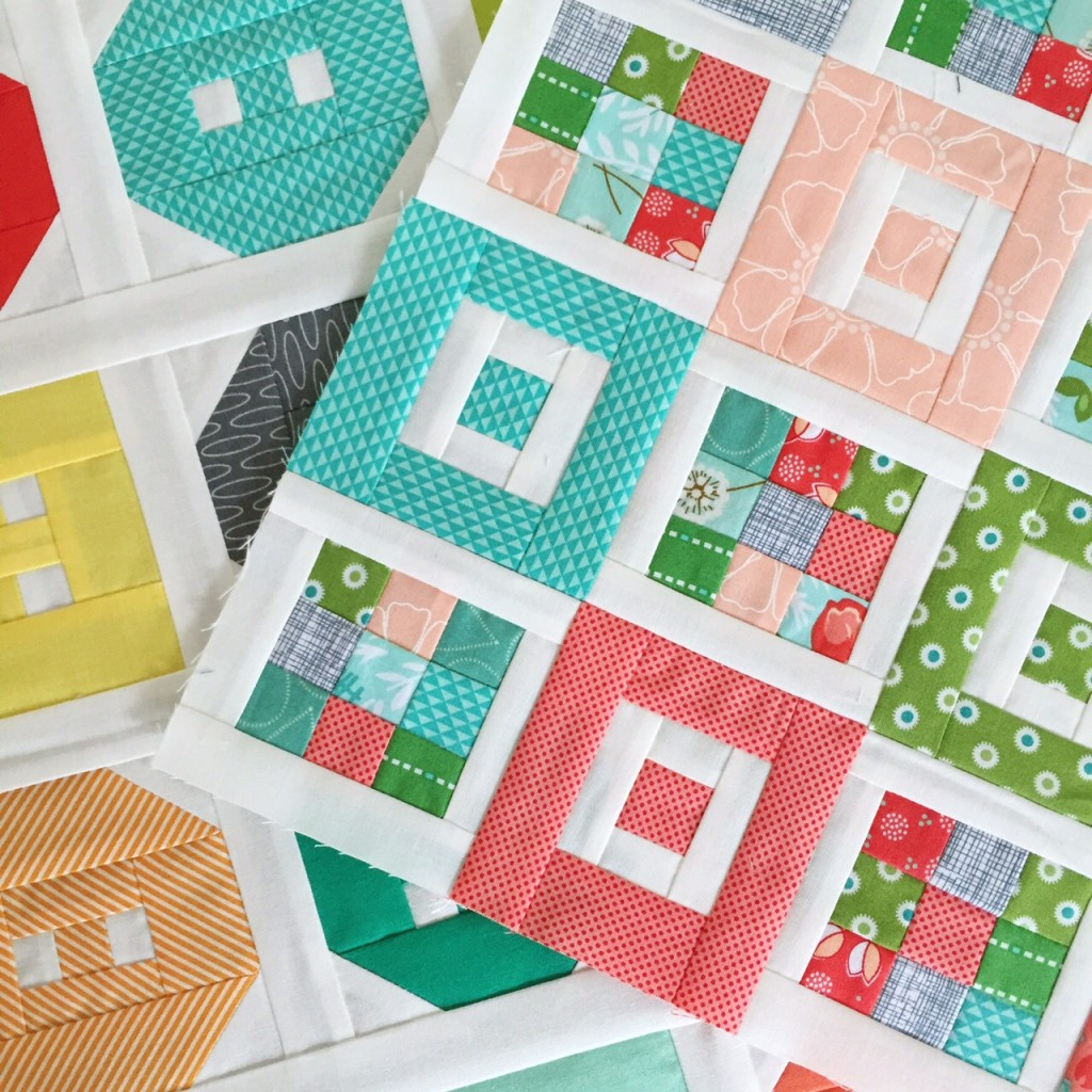Shortcake and Button Up Mini Quilts