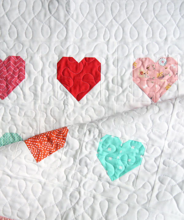 Finished Heart Quilt