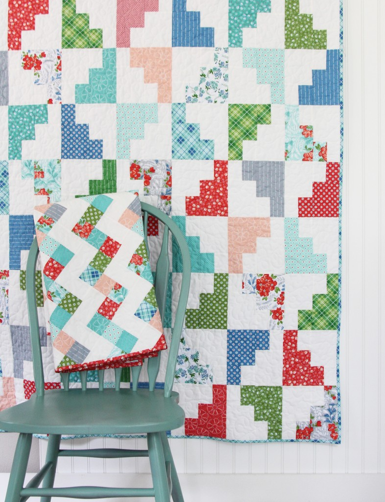 Hello March Quilt in Hazel