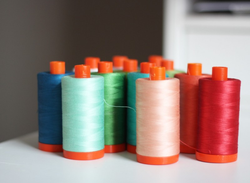 Hazel Aurifil Thread Collection