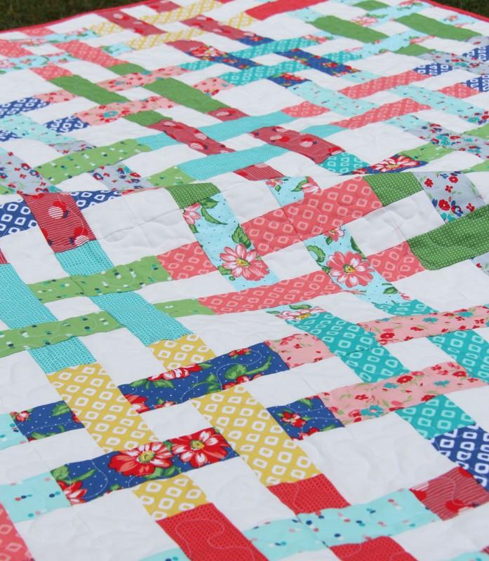Basket Case Quilt, Cluck Cluck Sew