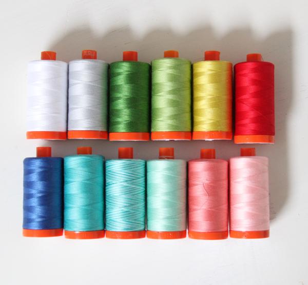 Dixie Aurifil Thread