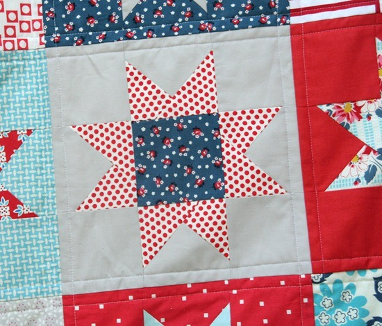 July Star Blocks Tutorial
