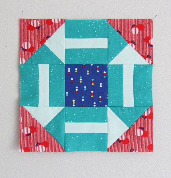 Around the Corner Quilt Block