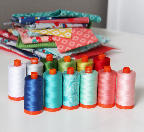 Dixie Aurifil Thread