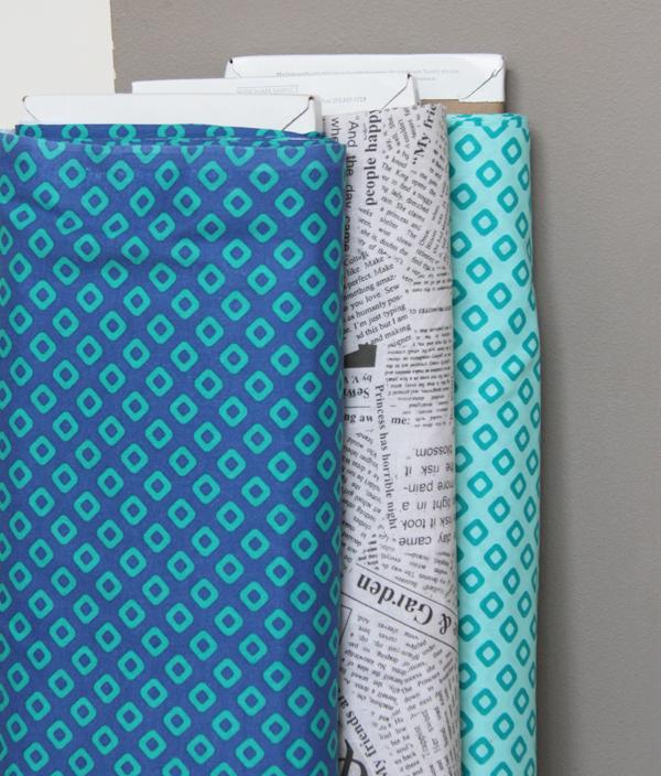 Wide back fabrics