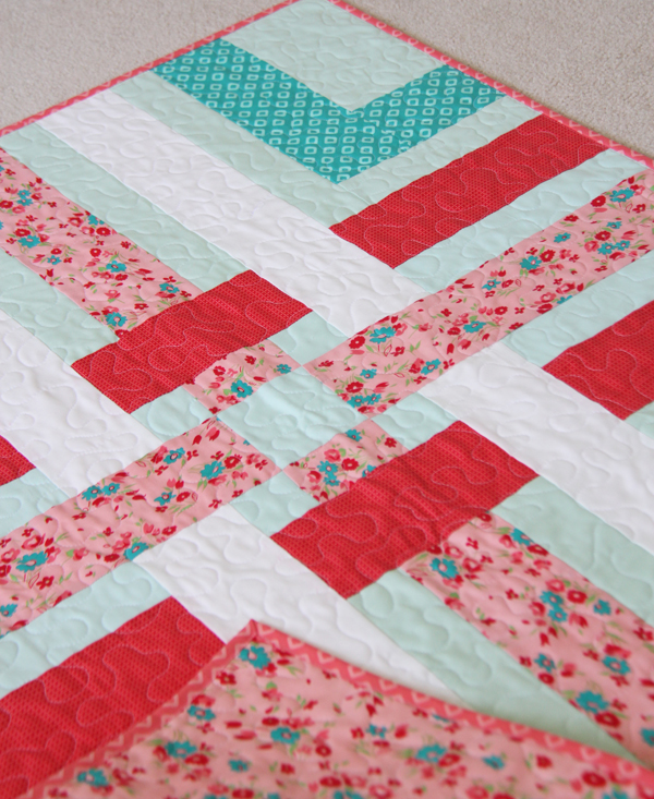 Woven Quilt Pattern