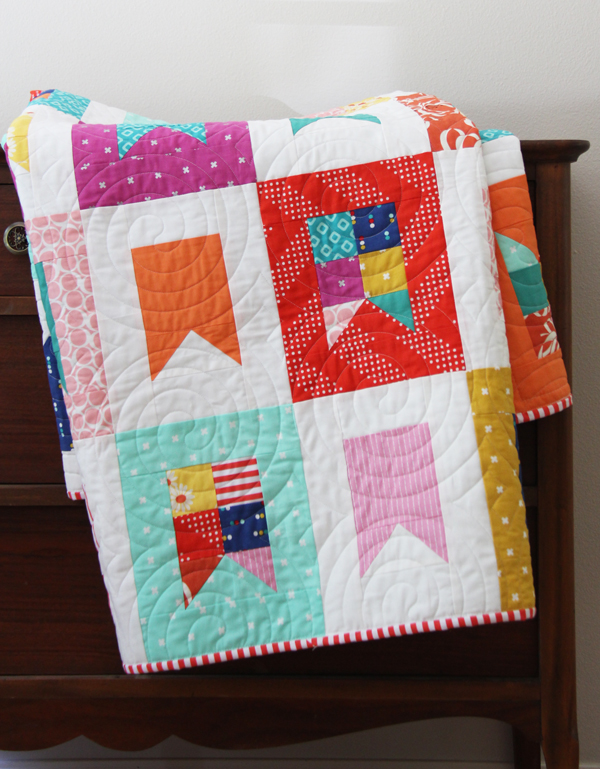 Celebrate Quilt Pattern, Fat Quarter Friendly