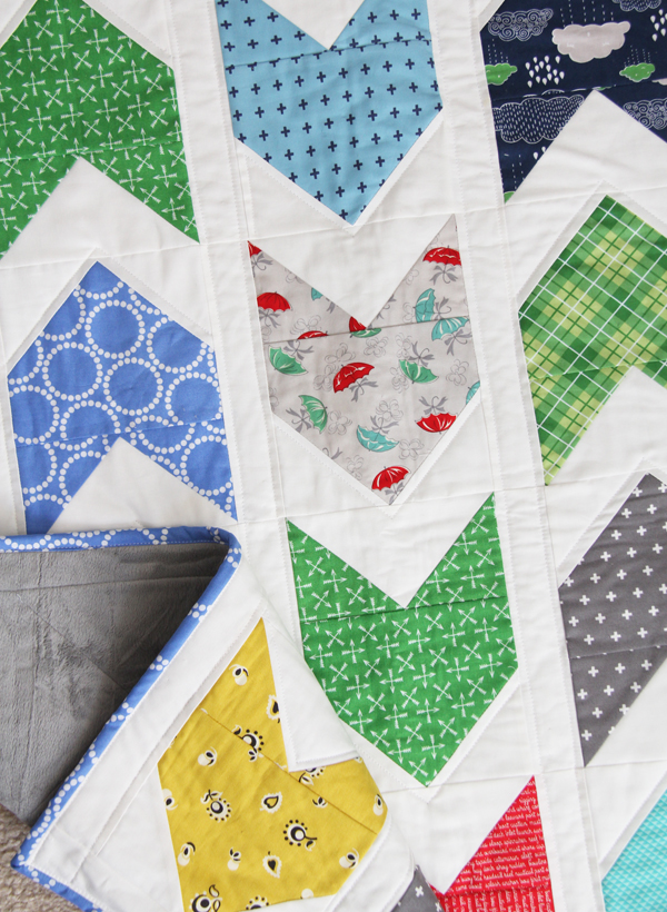 Baby Pow Wow Quilt, Cluck Cluck Sew