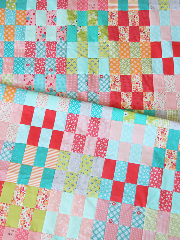 Jelly Strip Stash Buster Quilt