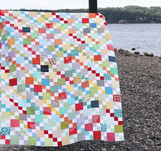 Scrappy Summer Free Quilt Tutorial
