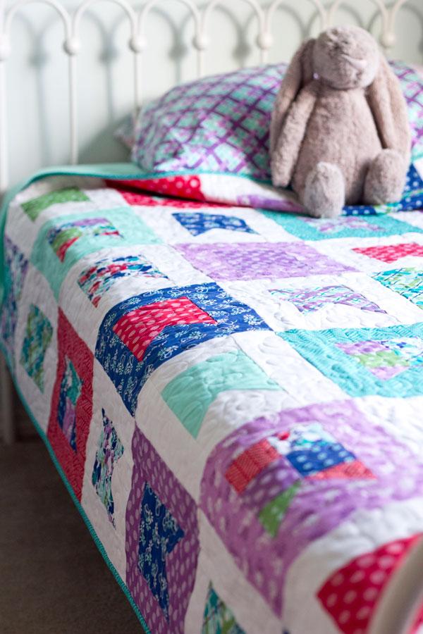 Celebrate Pattern in Hello Jane fabrics