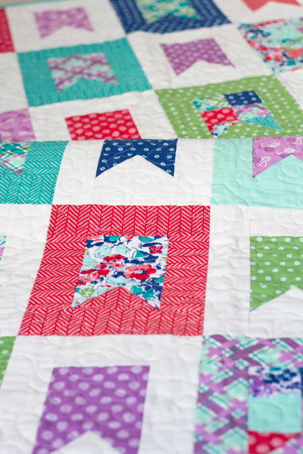 Celebrate Pattern in Hello Jane fabrics