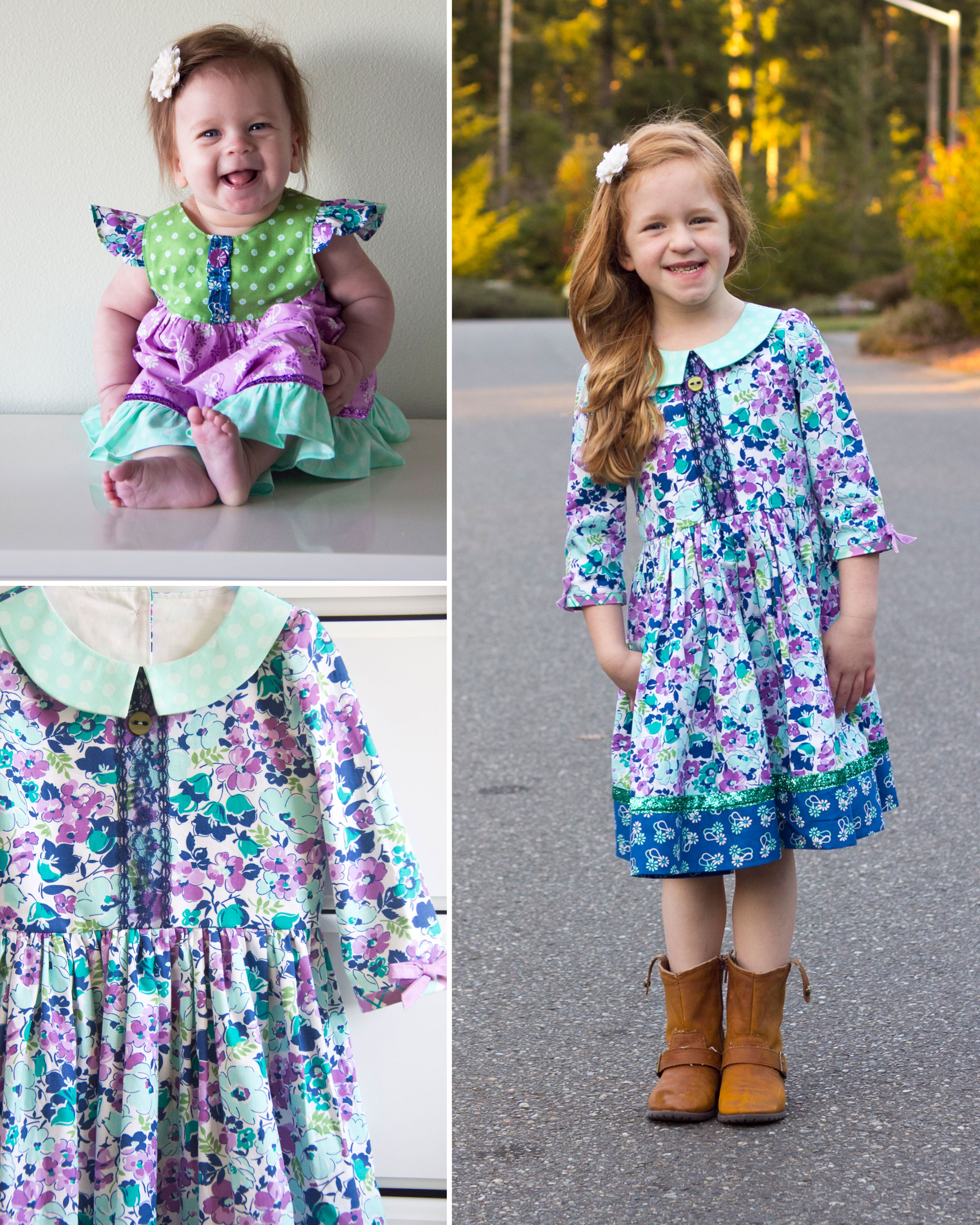 Dresses in Hello Jane Fabric