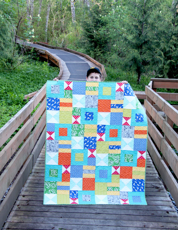 Bizzy Kid Quilt Pattern