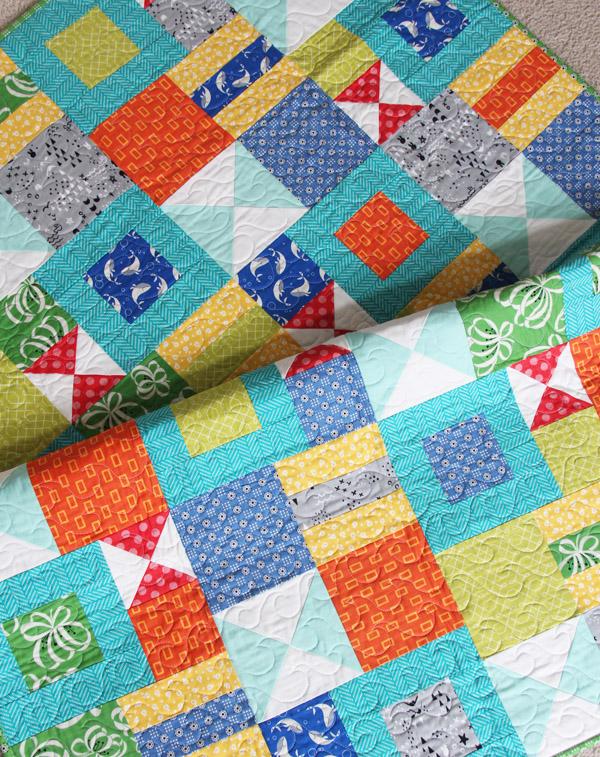 Bizzy Kid Quilt Pattern