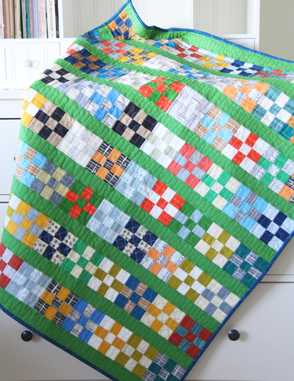 Grassy Doe Quilt with Free Tutorial
