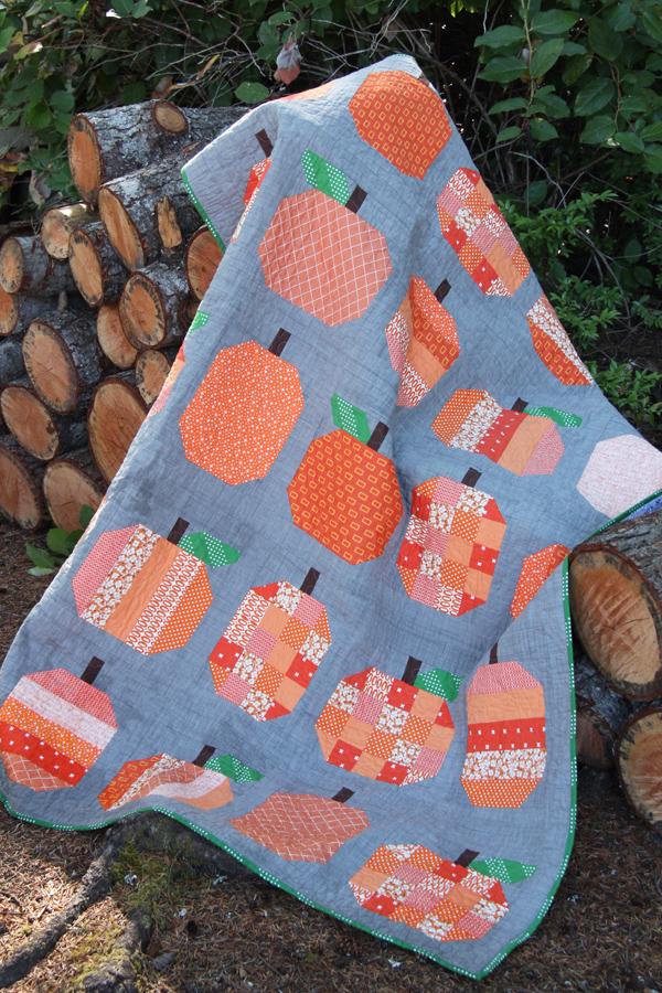 Pumpkins Quilt Pattern
