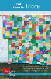 Fat Quarter Friday Quilt Pattern