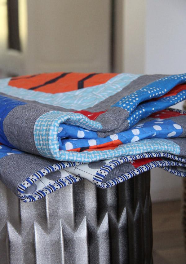 Slam Dunk Quilt Pattern, Cluck Cluck Sew