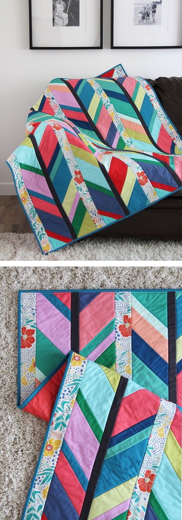 Scout Quilt Pattern, Cluck Cluck Sew