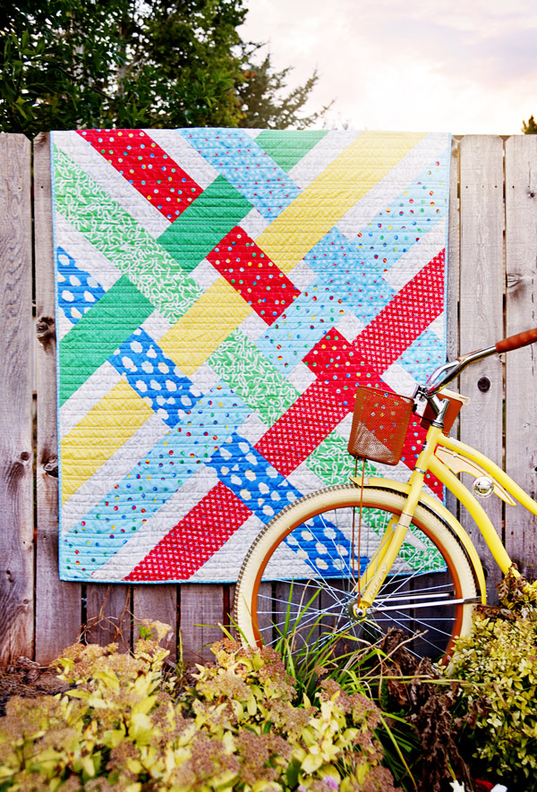 Libby Quilt Pattern in Bounce Fabrics