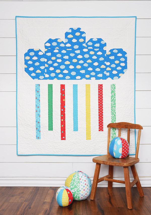 Rainy Day Jr. Free Pattern in Bounce