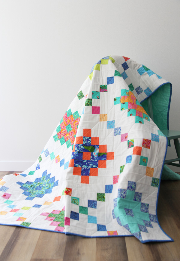Pixel Chain, Jelly Roll Quilt Pattern