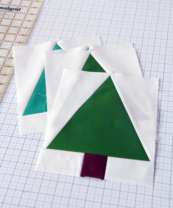 Free Tree Quilt Block Pattern