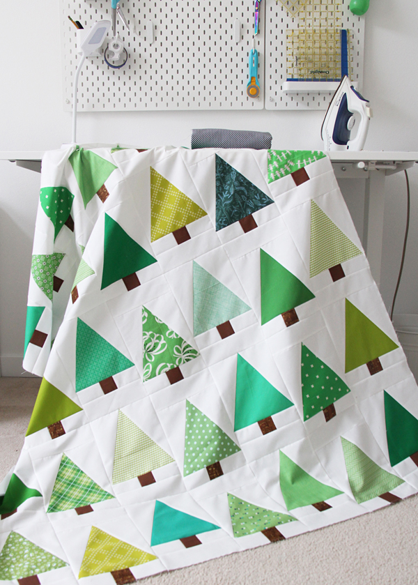 Evergreen Tree Quilt Tutorial