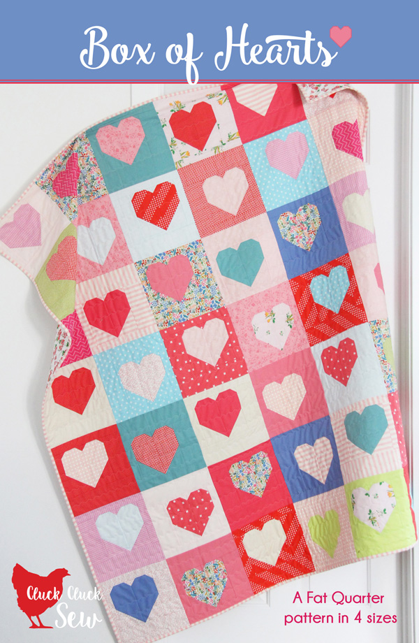 Box of Hearts Quilt Pattern