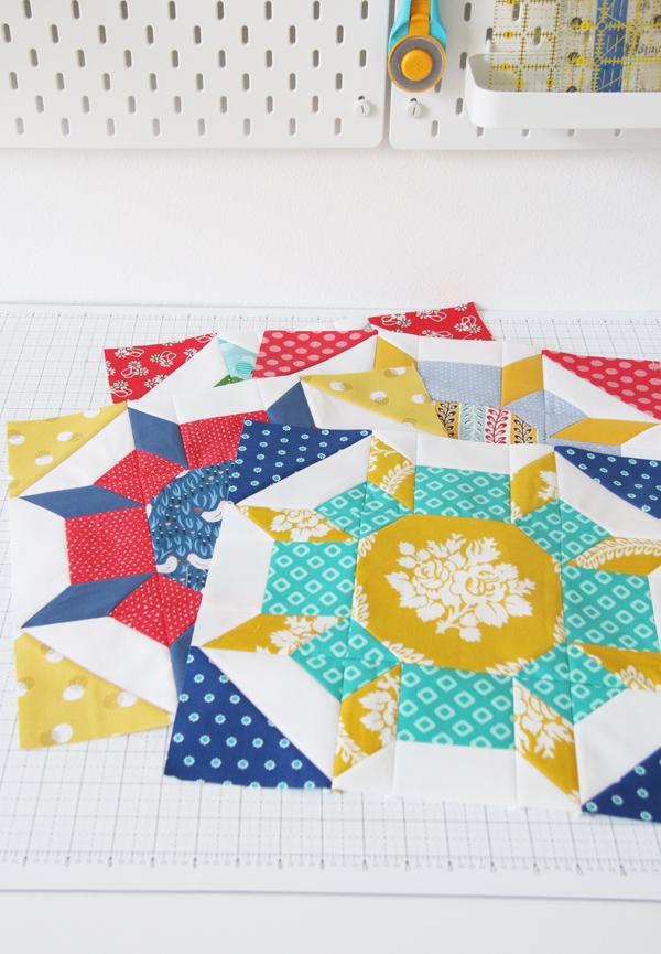 Shimmer Quilt Pattern Blocks