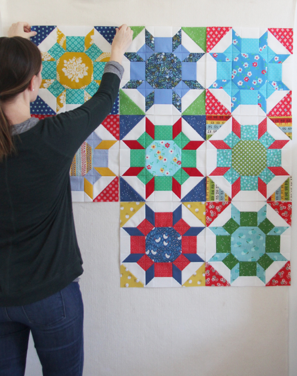 Shimmer Quilt Blocks