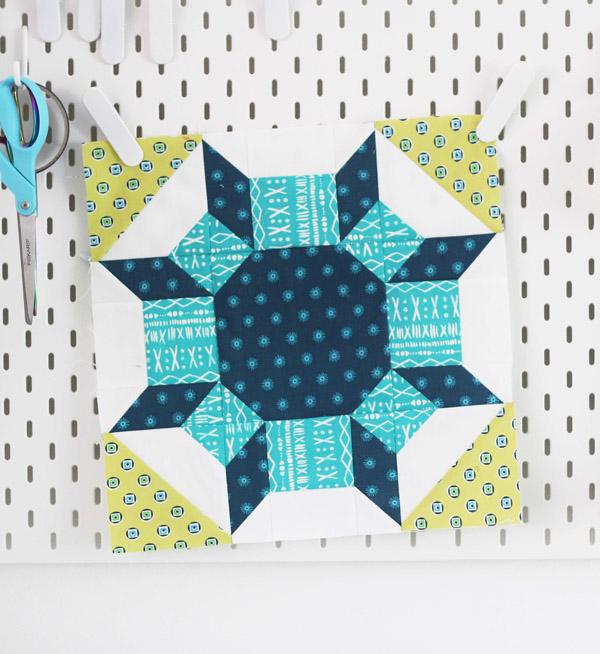 Shimmer Quilt Block