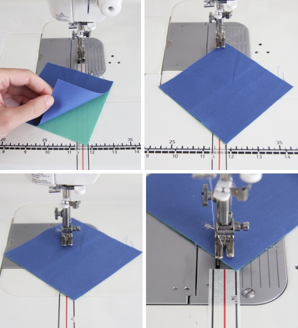 How to use Diagonal Seam Tape while sewing