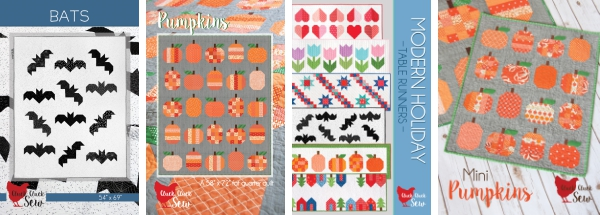 Fall Quilt Patterns, Cluck Cluck Sew