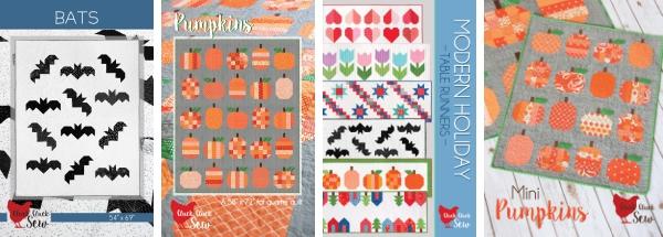 Fall Quilt Patterns, Cluck Cluck Sew