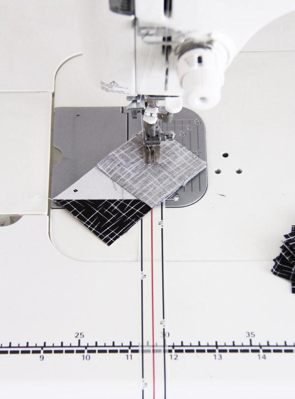 Diagonal Seam Tape, Cluck Cluck Sew