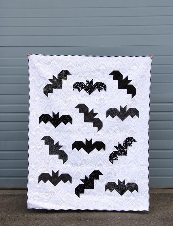 Bats Quilt Pattern