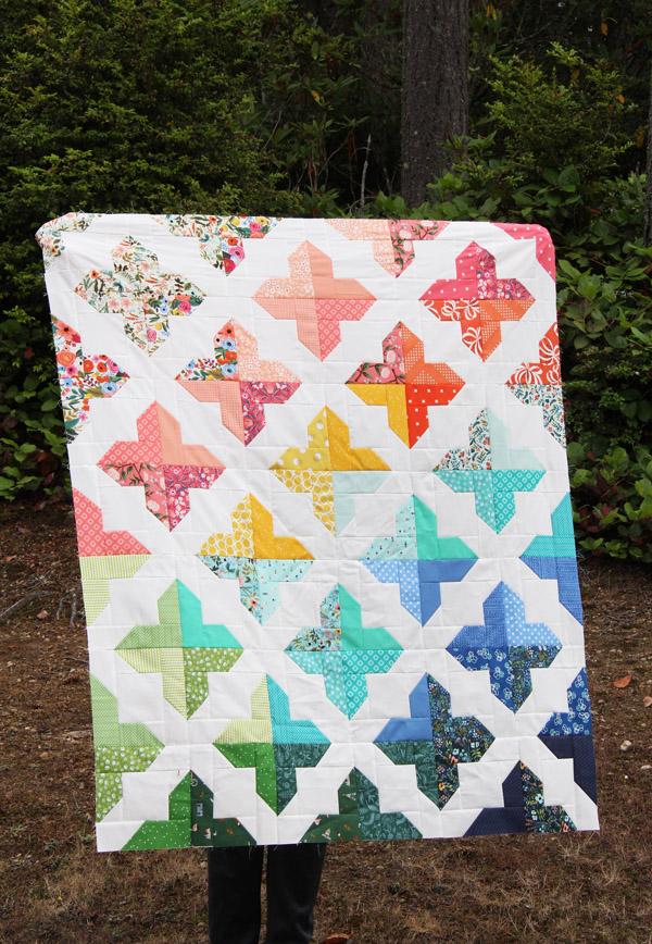 Floral Trellis Quilt