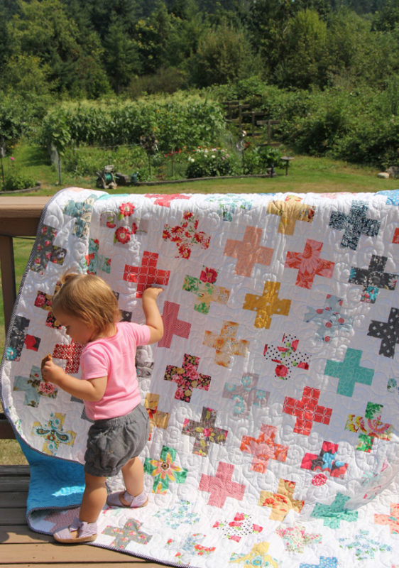 Simple Addition Quilt, Jelly Roll friendly plus quilt