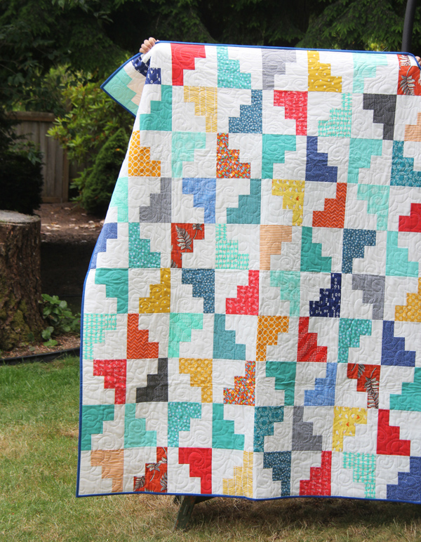 Hello March Quilt Pattern, Layer Cake or Fat Quarter friendly