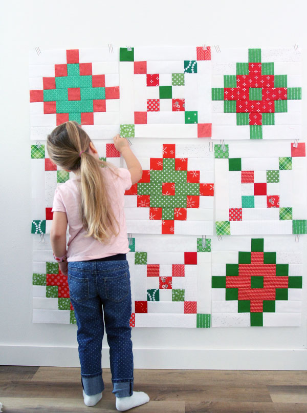 Pixel Chain Quilt Pattern, Jelly Roll quilt