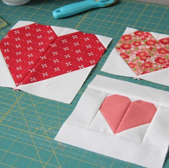 Making Heart Blocks Tutorial