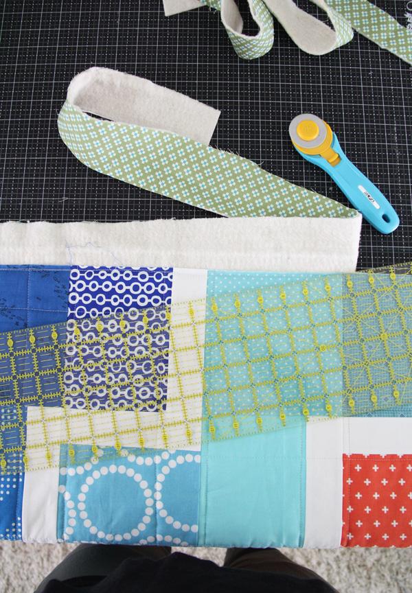 Ziggy Baby quilt pattern, beginner friendly